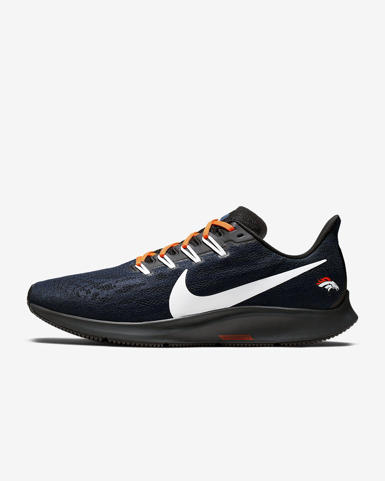 Nike Air Zoom Pegasus 36 (Broncos) Men's Running Shoe