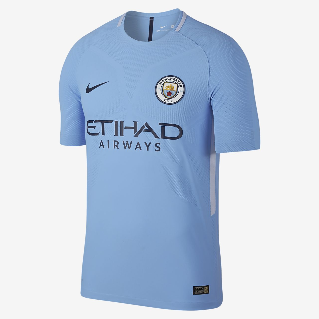 2017/18 Manchester City FC Vapor Match Home Men Football Shirt
