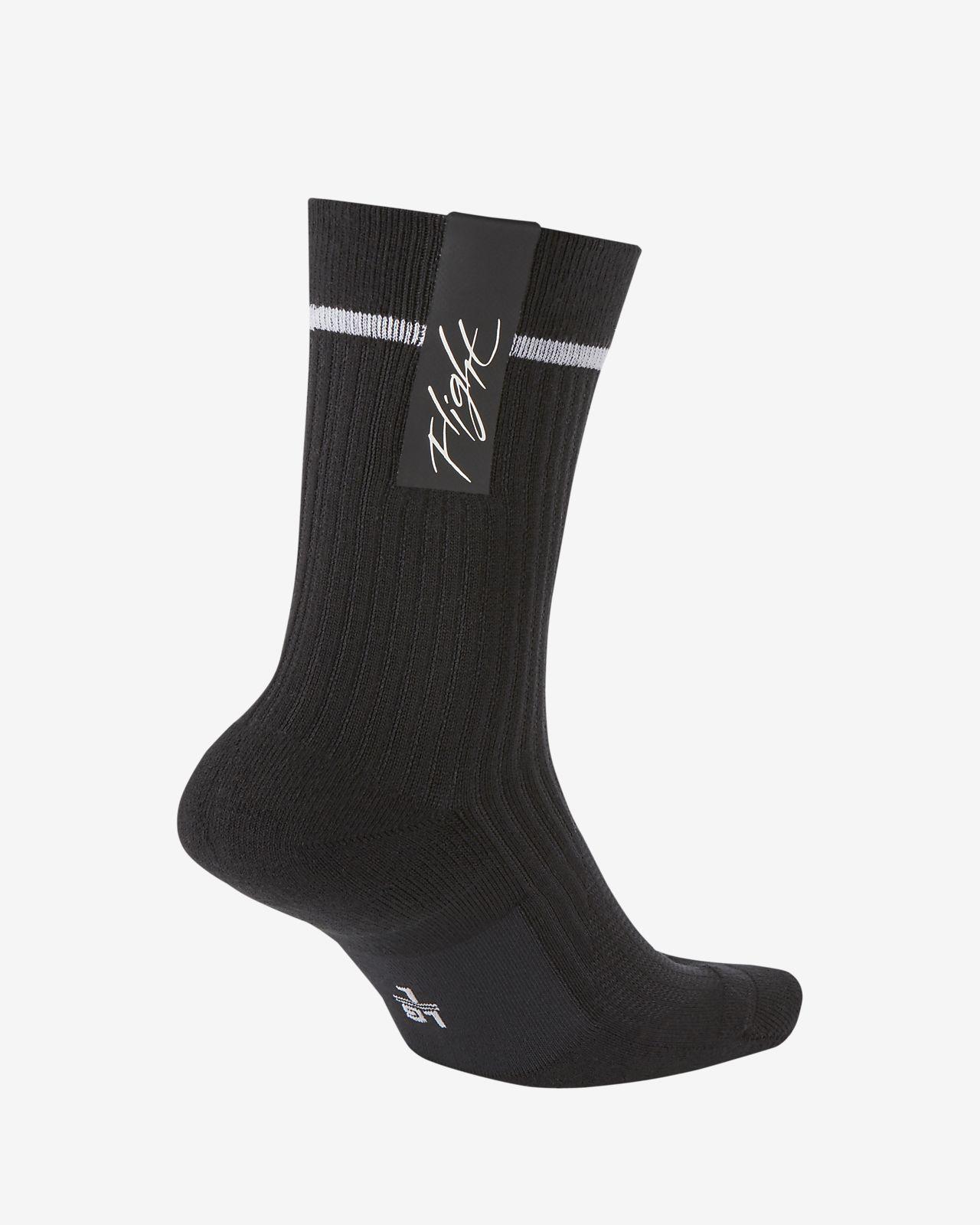 uk availability huge sale great quality Nike SNEAKR Sox Flight Crew Socks
