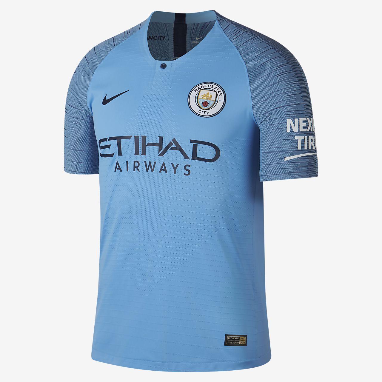 2018/19 Manchester City FC Vapor Match Home Men's Football Shirt
