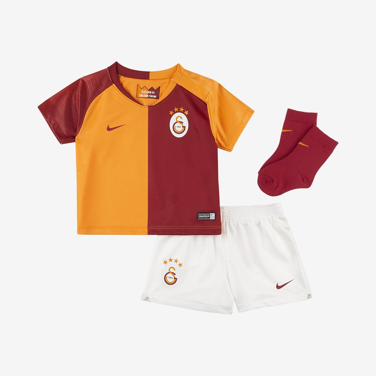 Paket med fotbollskläder 2018/19 Galatasaray S.K.Stadium Home för baby/små barn