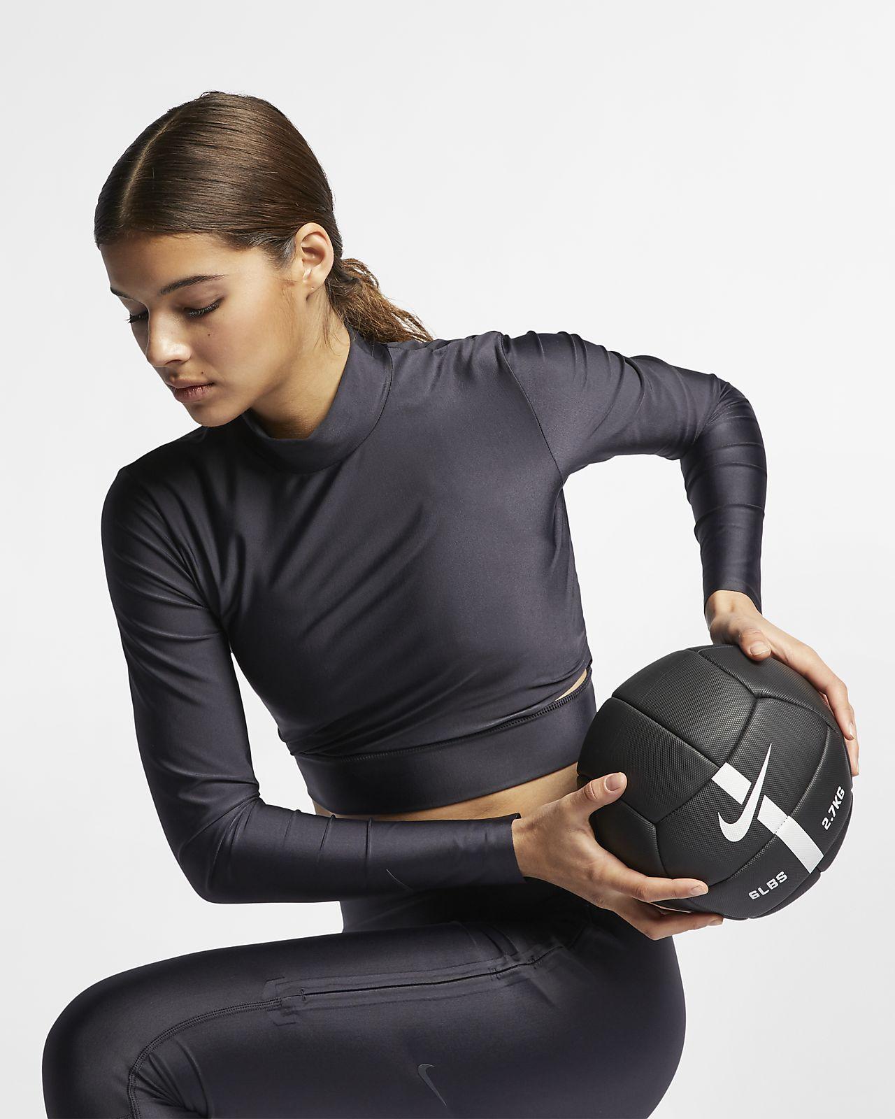 Dámský tréninkový top s dlouhým rukávem Nike