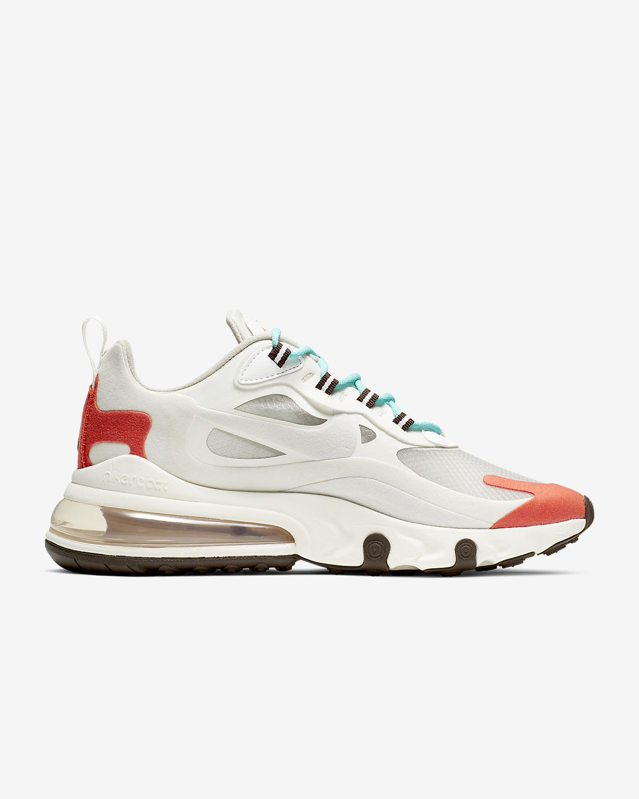on sale aba04 b8f5d Nike Air Max 270 React (Mid-Century) Women's Shoe