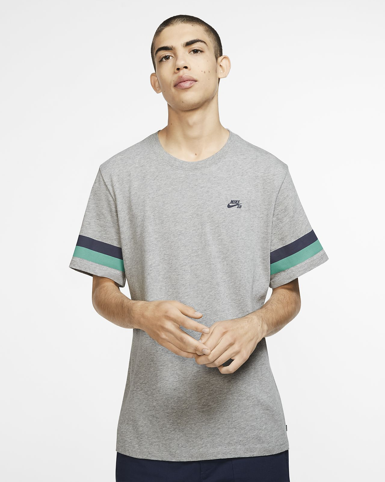 c50bf0ad Nike SB Men's Striped Skate T-Shirt. Nike.com GB