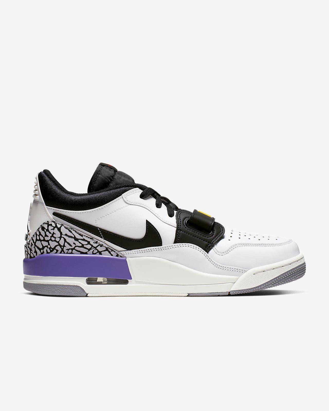 Details zu Nike Jordan Legacy 312 Herrenschuhe Sneaker Basketballschuhe Retro Schwarz 41 46