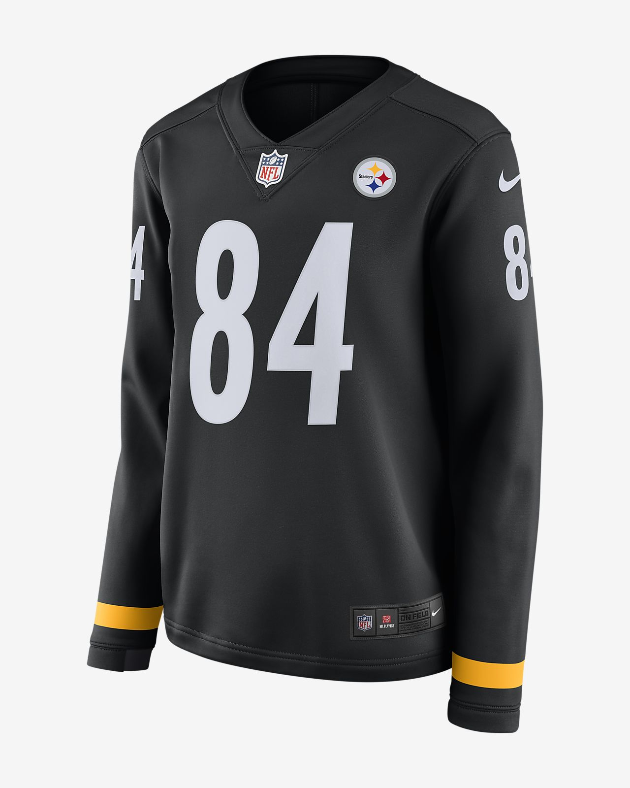 Women s Long-Sleeve Football Jersey. NFL Pittsburgh Steelers (Antonio Brown) ac56ded16d