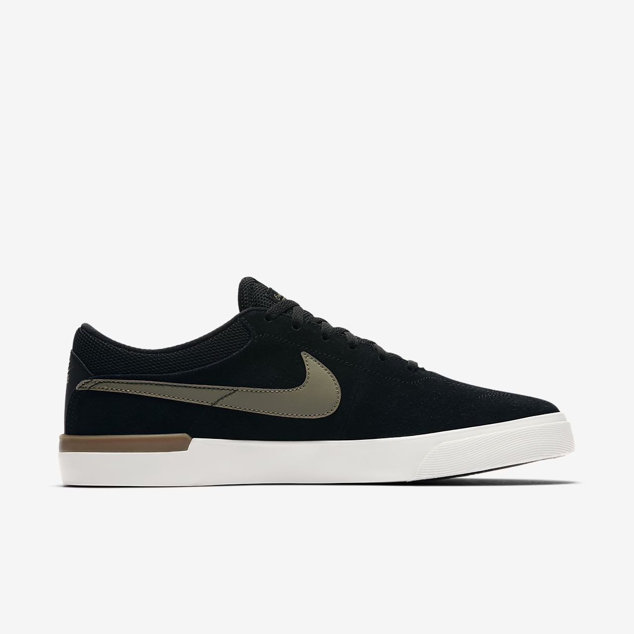 Nike SB Koston Hypervulc Men's Skateboarding Shoes Black/Brown/White eQ6671O