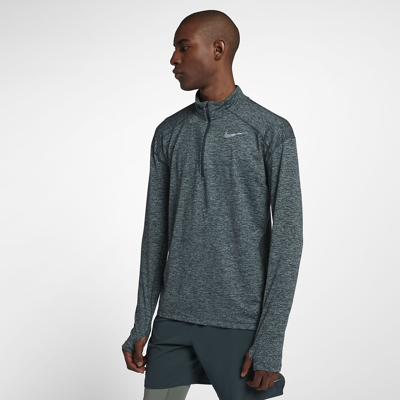 a5fe864d Nike Dri-FIT Men's Long-Sleeve Half-Zip Running Top. Nike.com AU