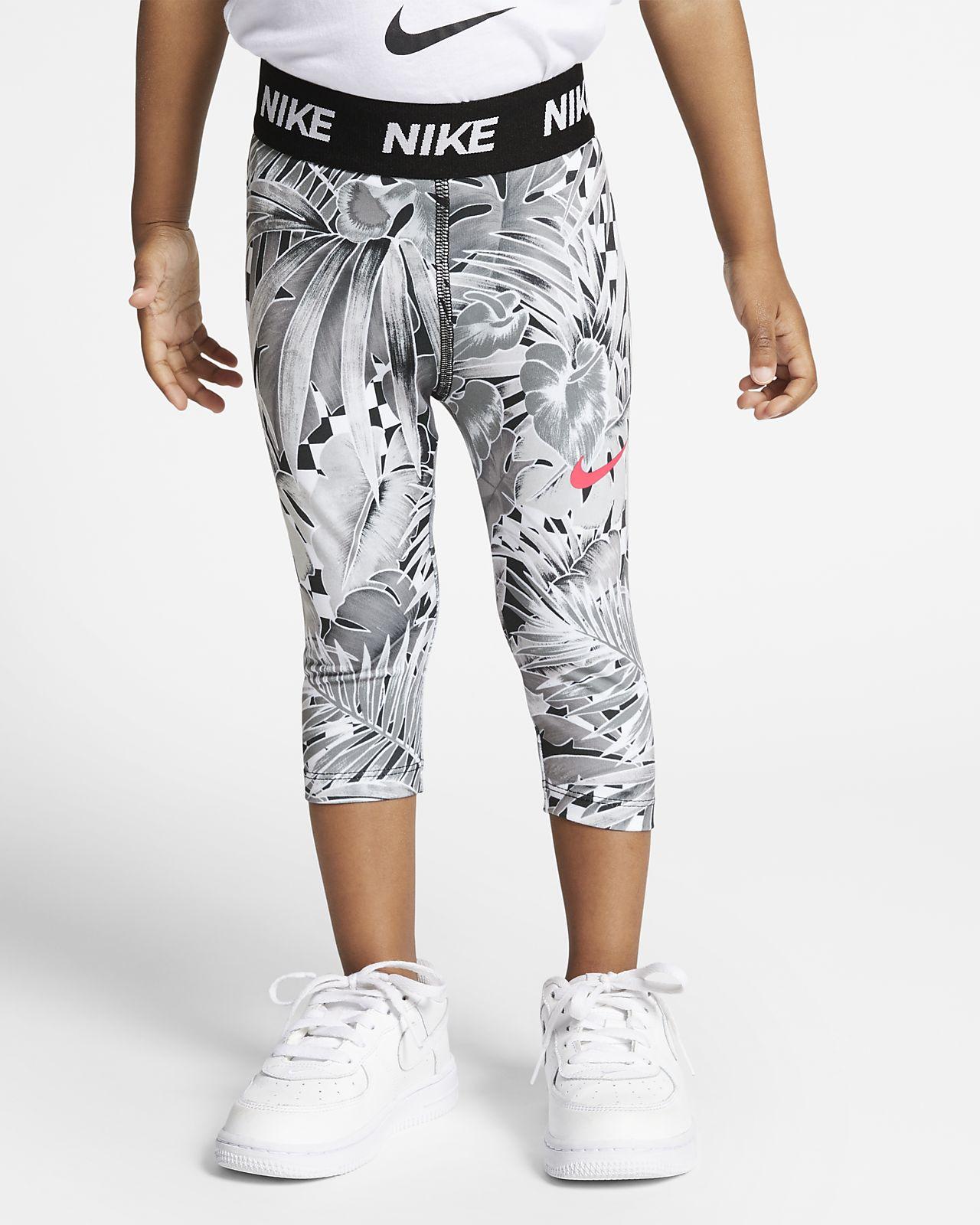 9c4725f34c Nike Dri-FIT Toddler 3/4-Length Printed Leggings