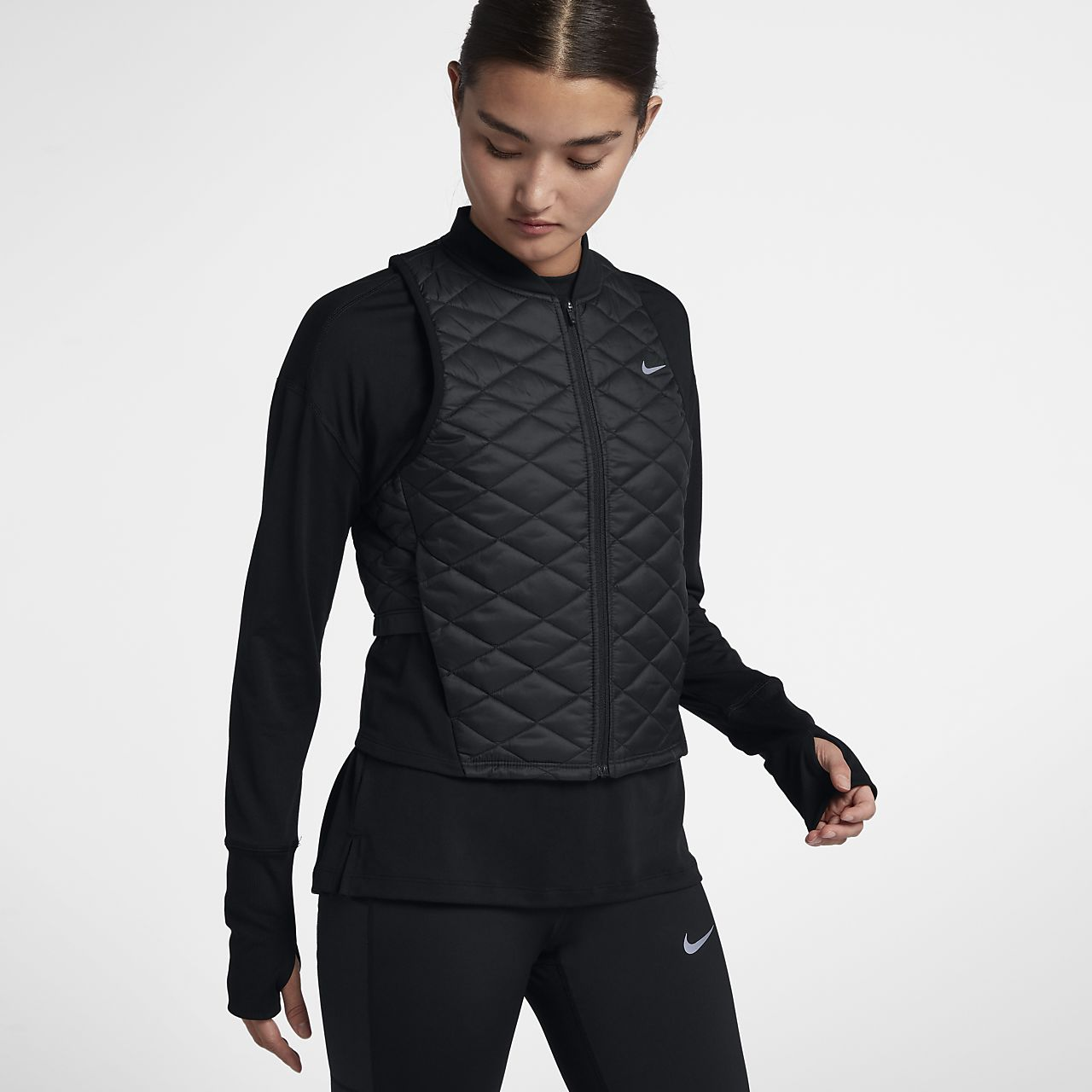 Veste de running sans manches Nike AeroLayer pour Femme. Nike.com BE 895019201ae3