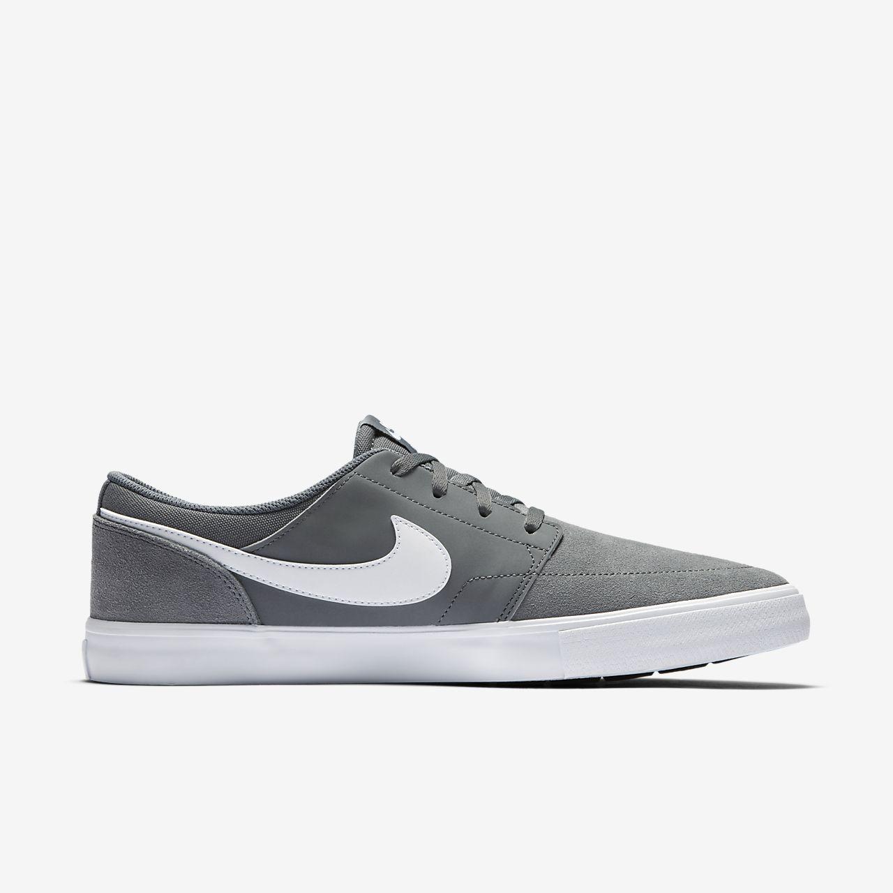 Nike - Ports Plus Baskets - Hommes - Chaussures De Sport - Noir - 40,5