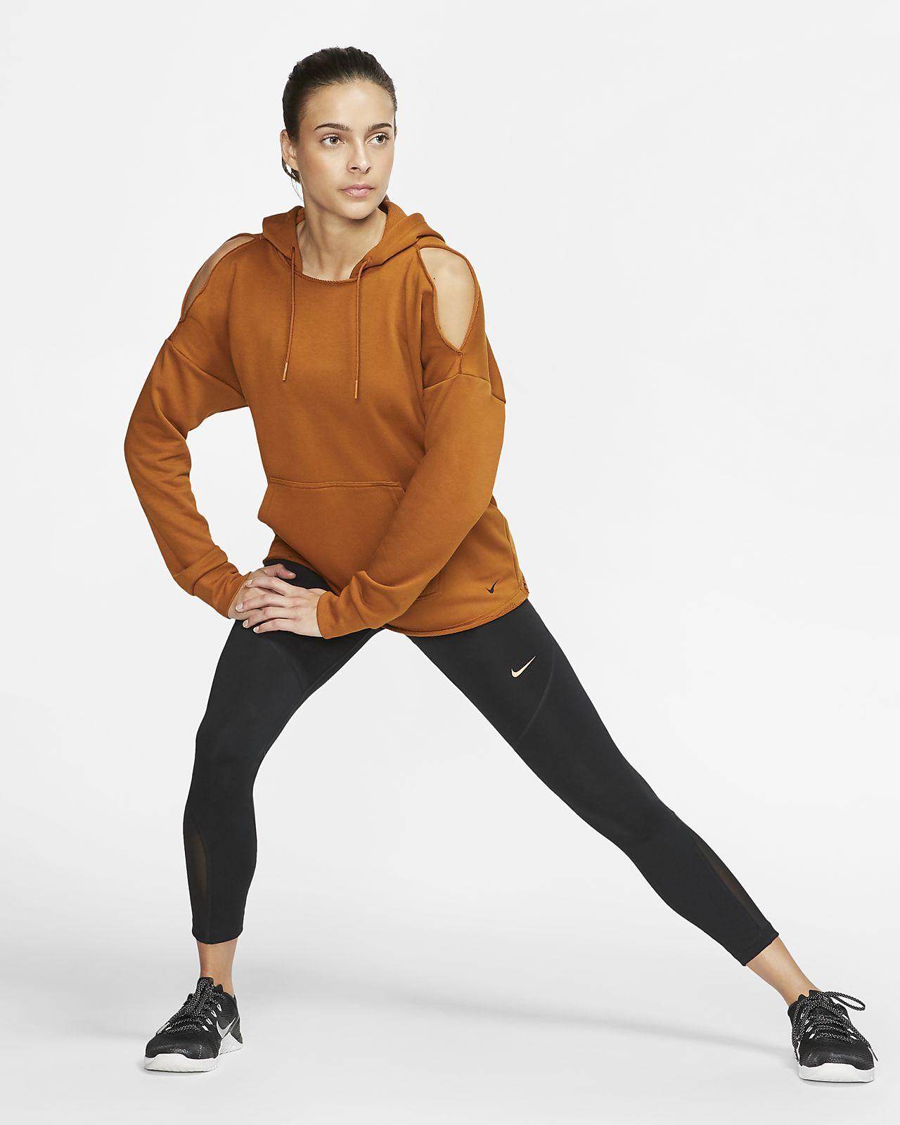 Felpa da training con cappuccio in fleece Nike Icon Clash Donna