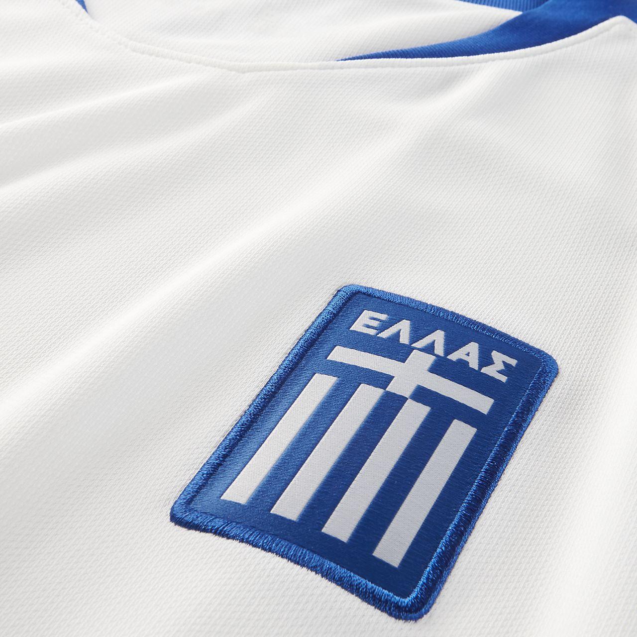 2018 Griechenland Stadium Home Herren Fußballtrikot