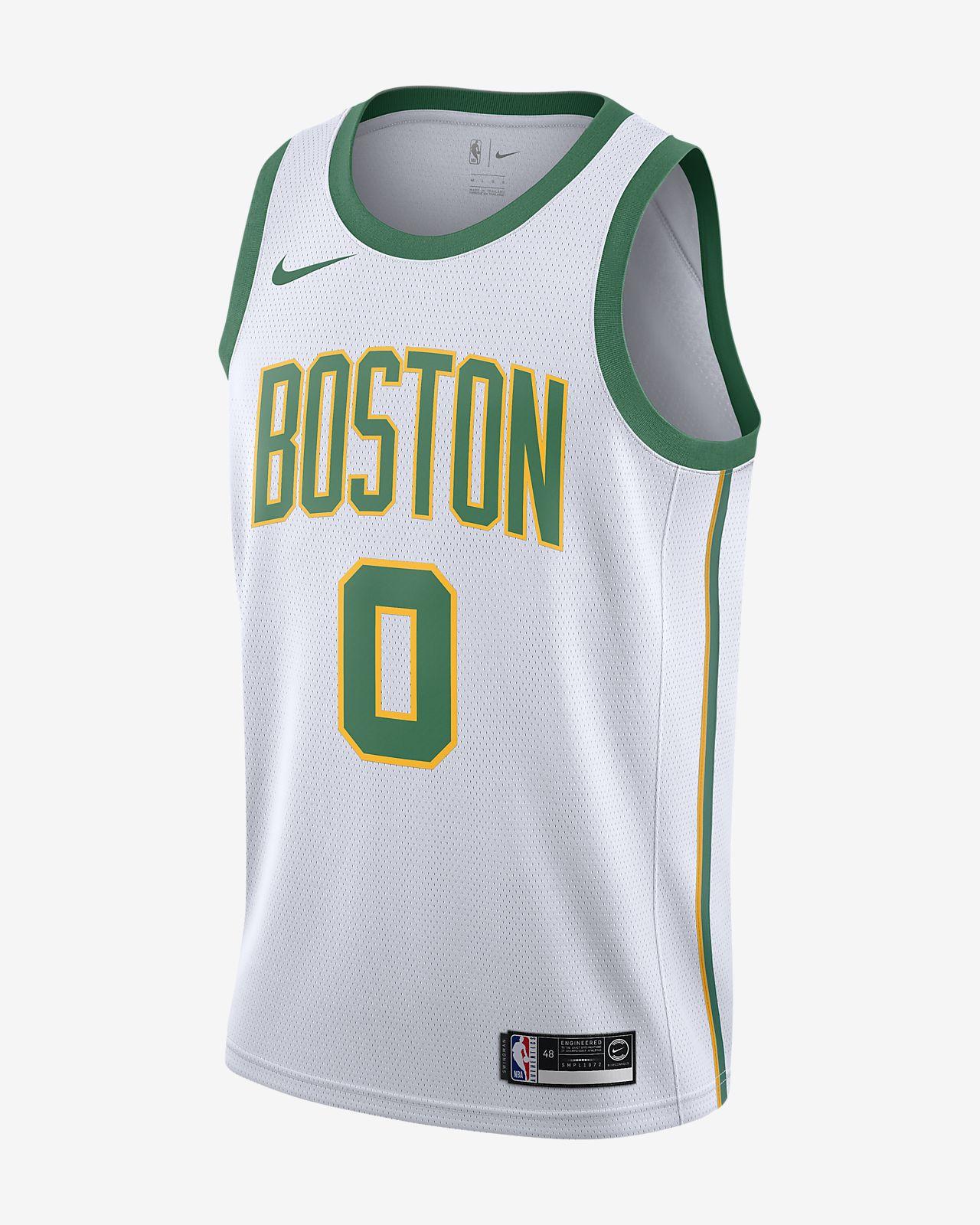 Maillot connecté Nike NBA Jayson Tatum City Edition Swingman (Boston Celtics) pour Homme