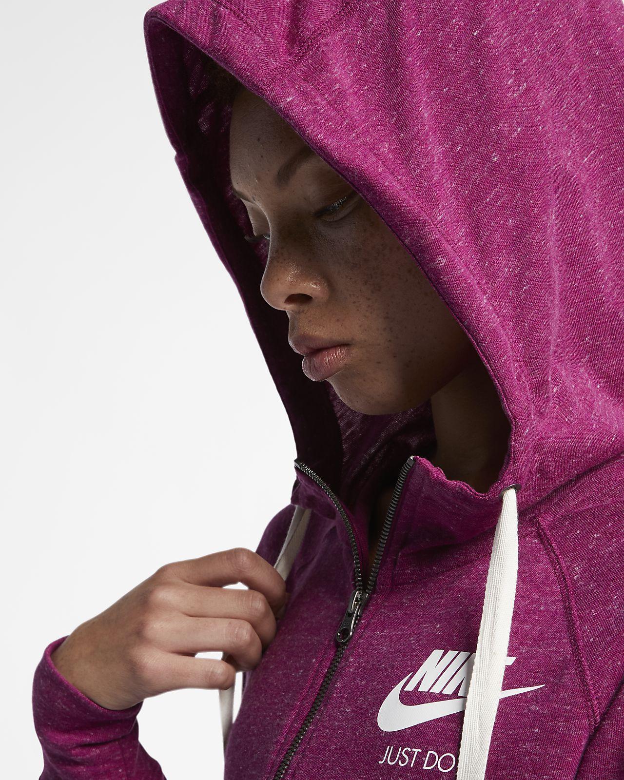 4eba150c61f6 Nike Sportswear Gym Vintage Women s Full-Zip Hoodie. Nike.com