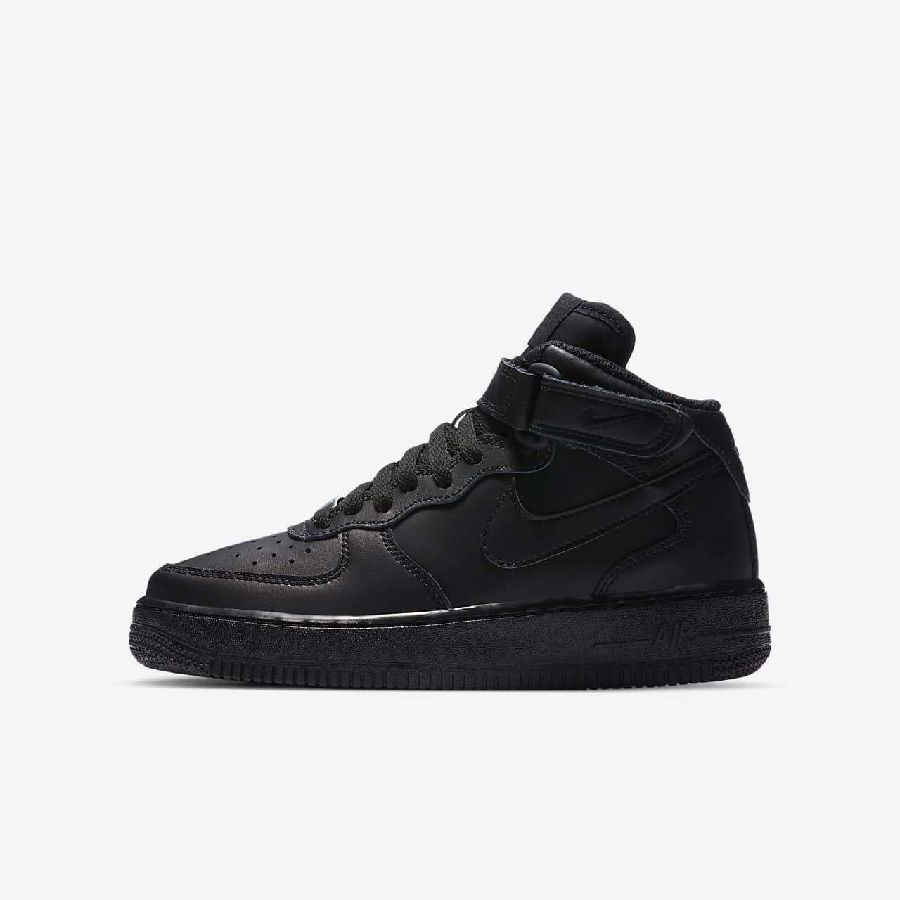 nike air force 1 black childrens nz