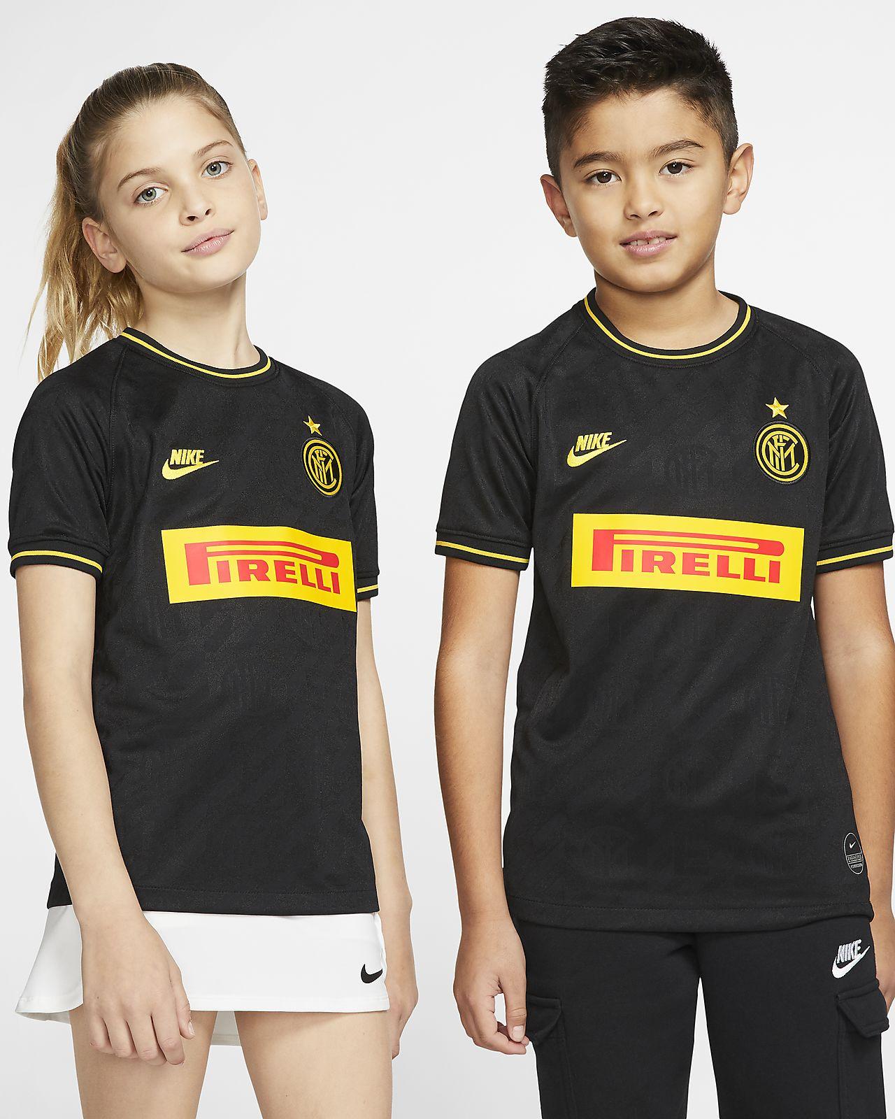 Camiseta de fútbol alternativa para niño talla grande Stadium del Inter de Milán 2019/20