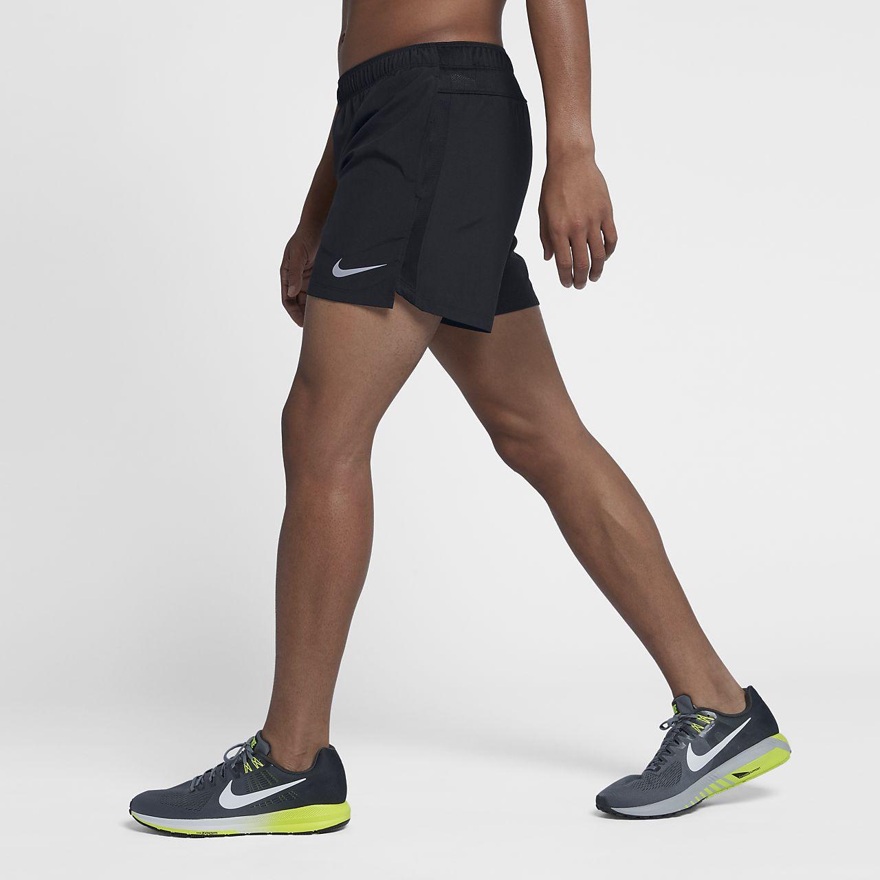 Short de running doublé Nike Challenger 12,5 cm pour Homme