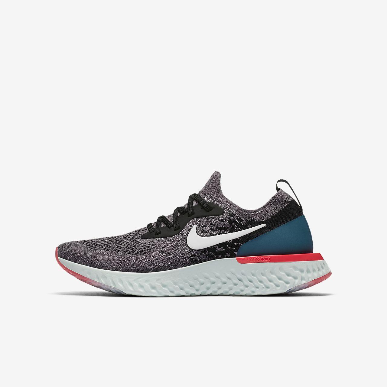 17b85d900b0 Nike Epic React Flyknit 1 Older Kids  Running Shoe. Nike.com DK