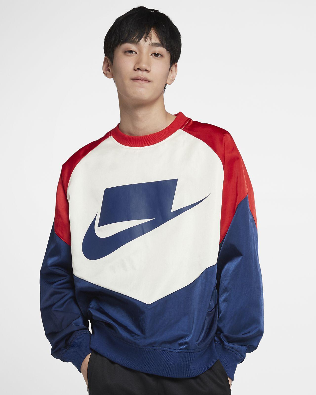 Nike Sportswear NSW 男子梭织圆领上衣