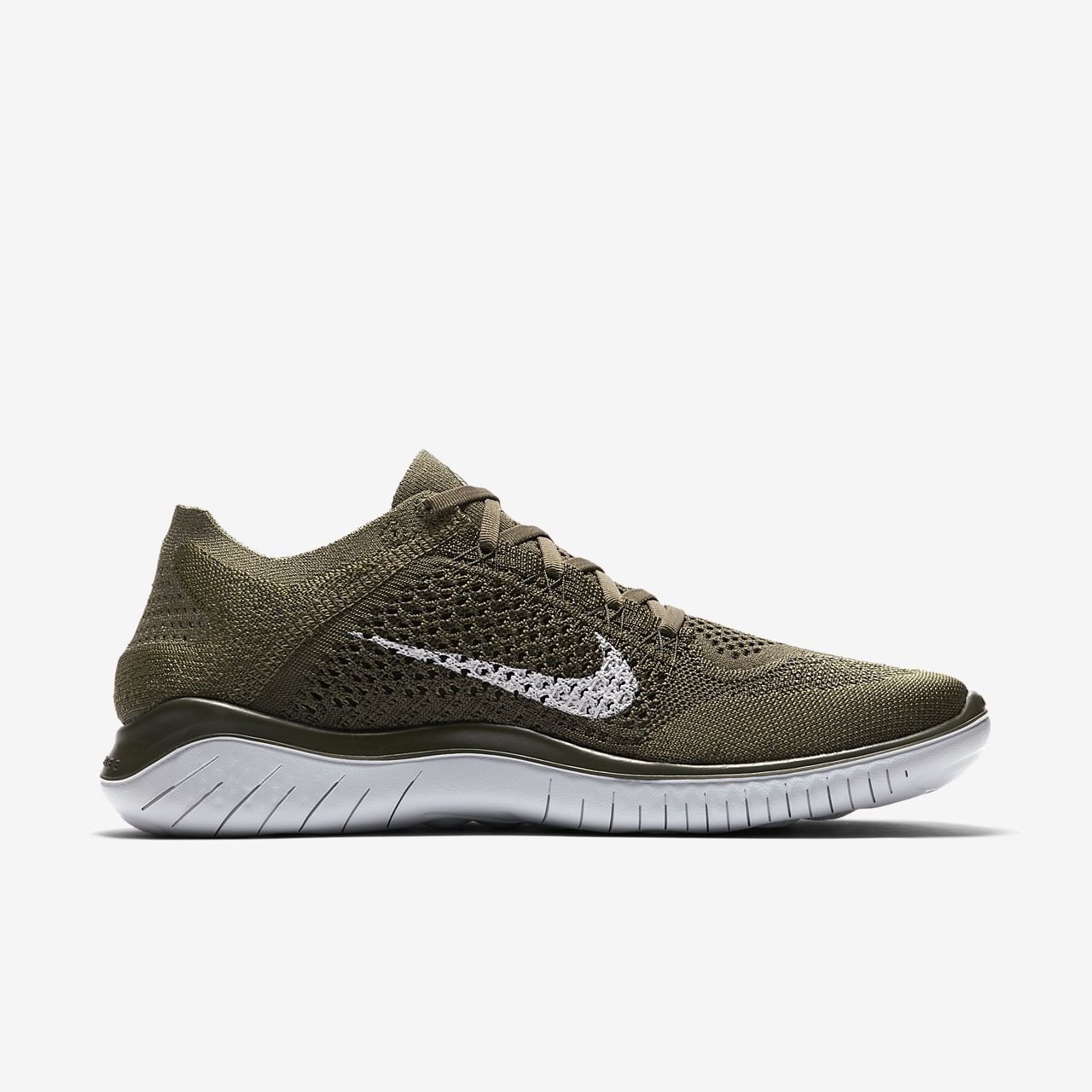Marques Chaussure homme Nike homme Nike Free Rn 2018 Cargo Khaki/Black-Sequoia
