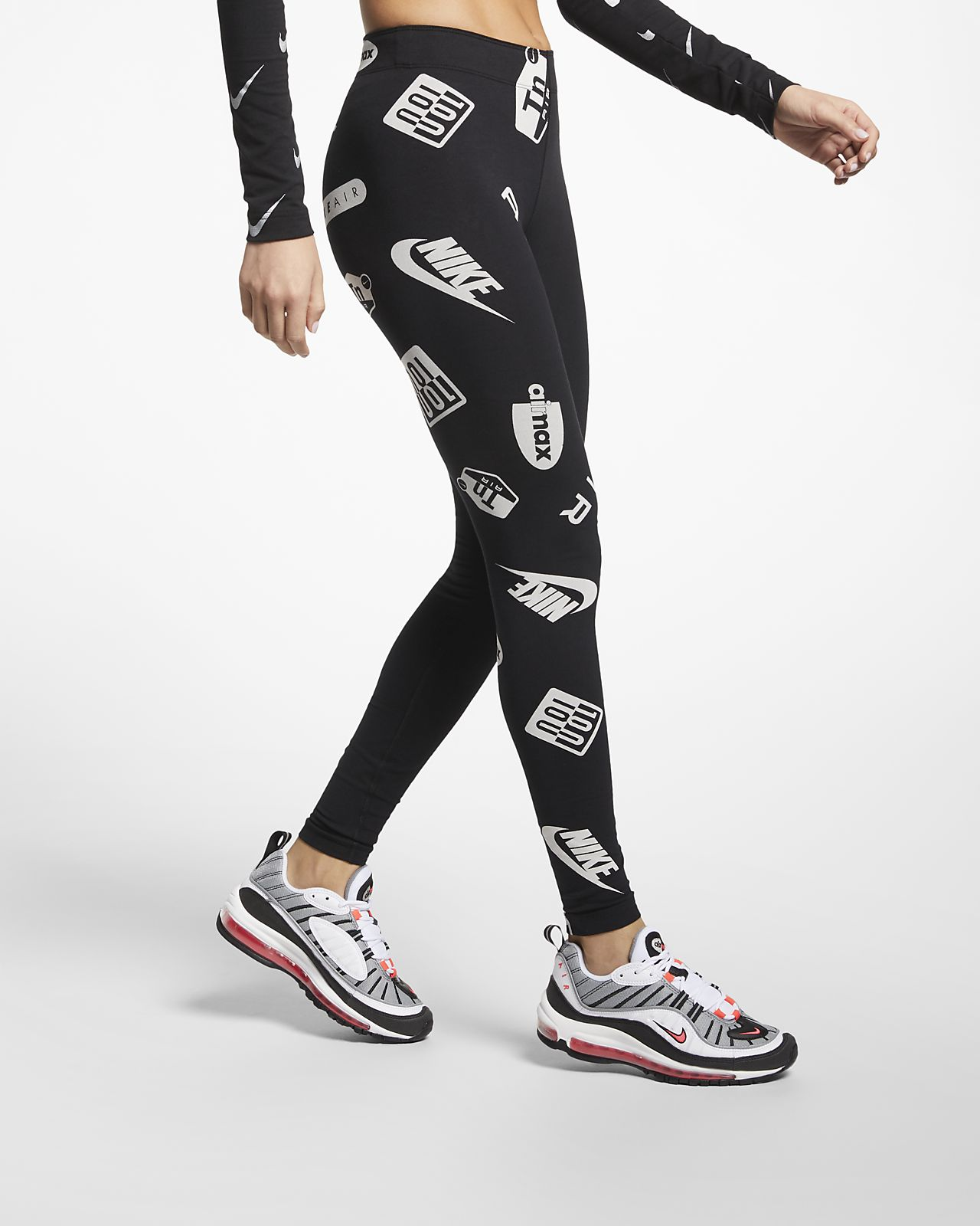 the best attitude a706e b2207 ... Nike Air Max Leg-A-See Women s Printed Leggings