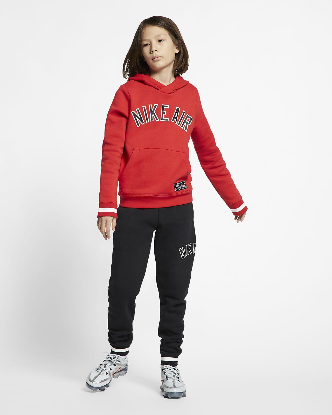 Hættetrøje I Fleece Air Til BørnDk Nike Store Pullover Qhdtsr