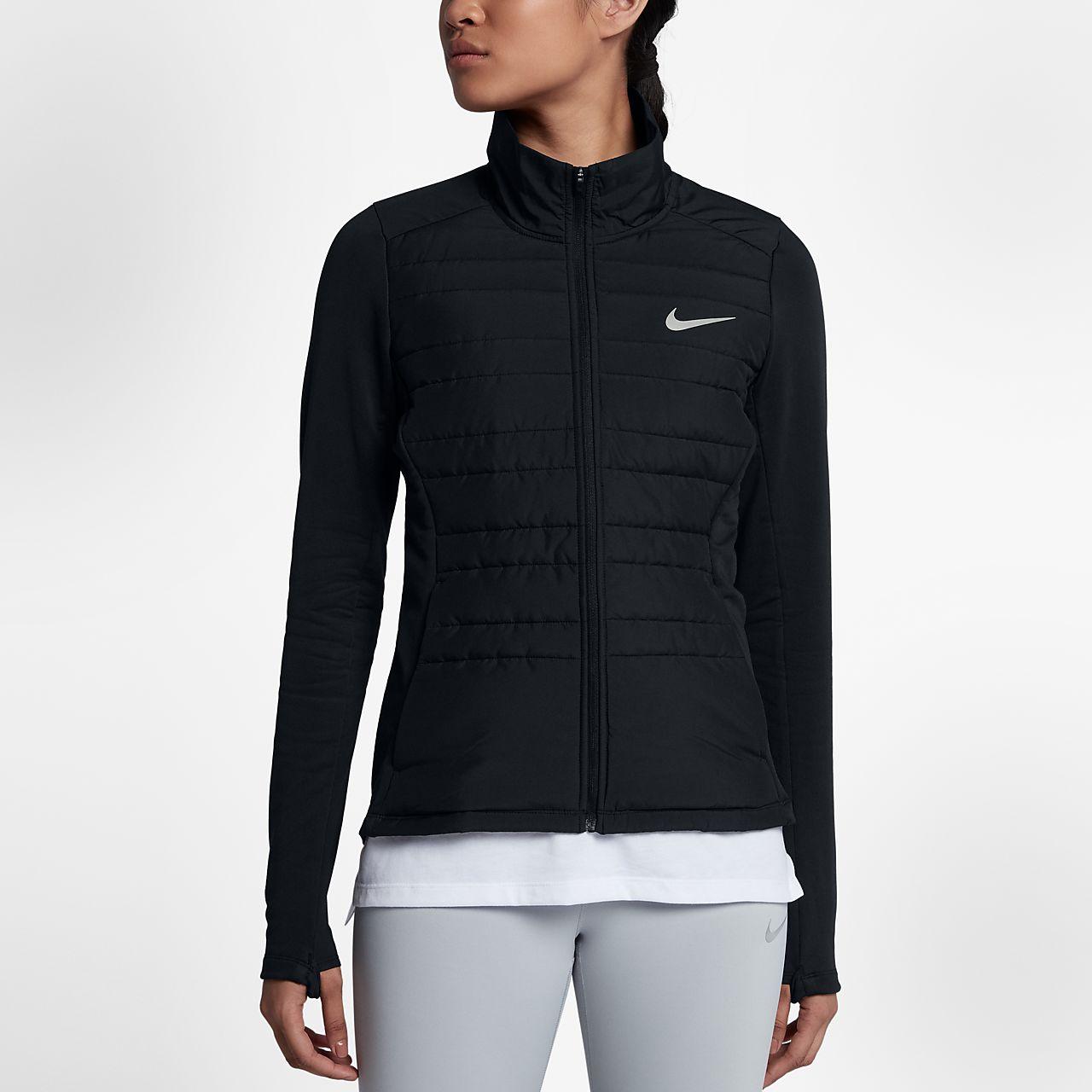 Nike Matelassée Course Femmes Veste