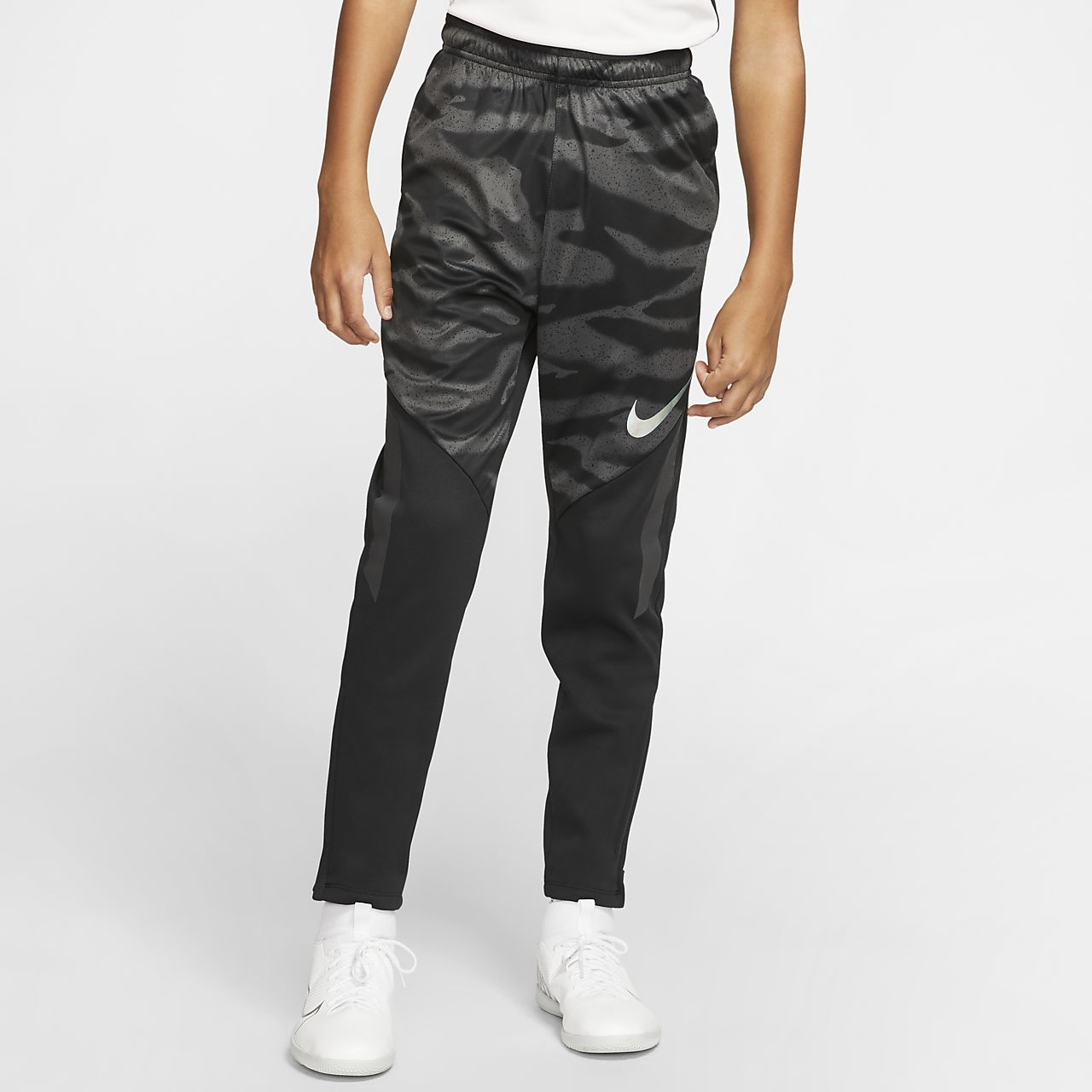 Футбольные брюки для школьников Nike Therma Shield Strike