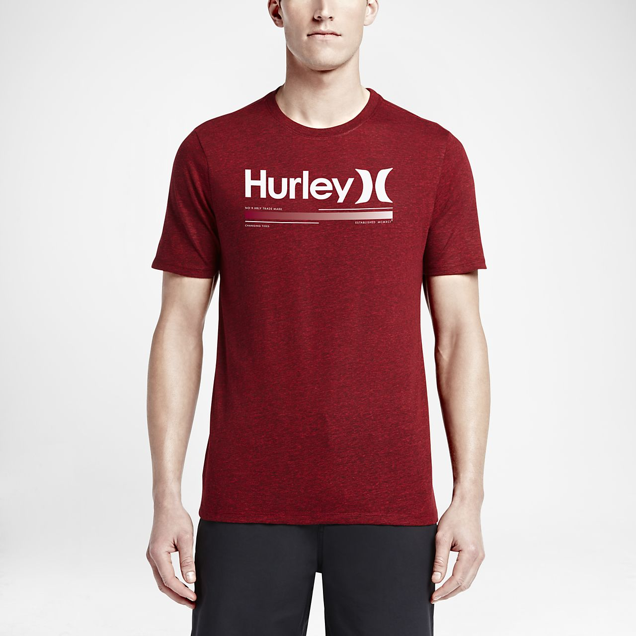 ... Hurley Alkaline Tri-Blend Men's T-Shirt
