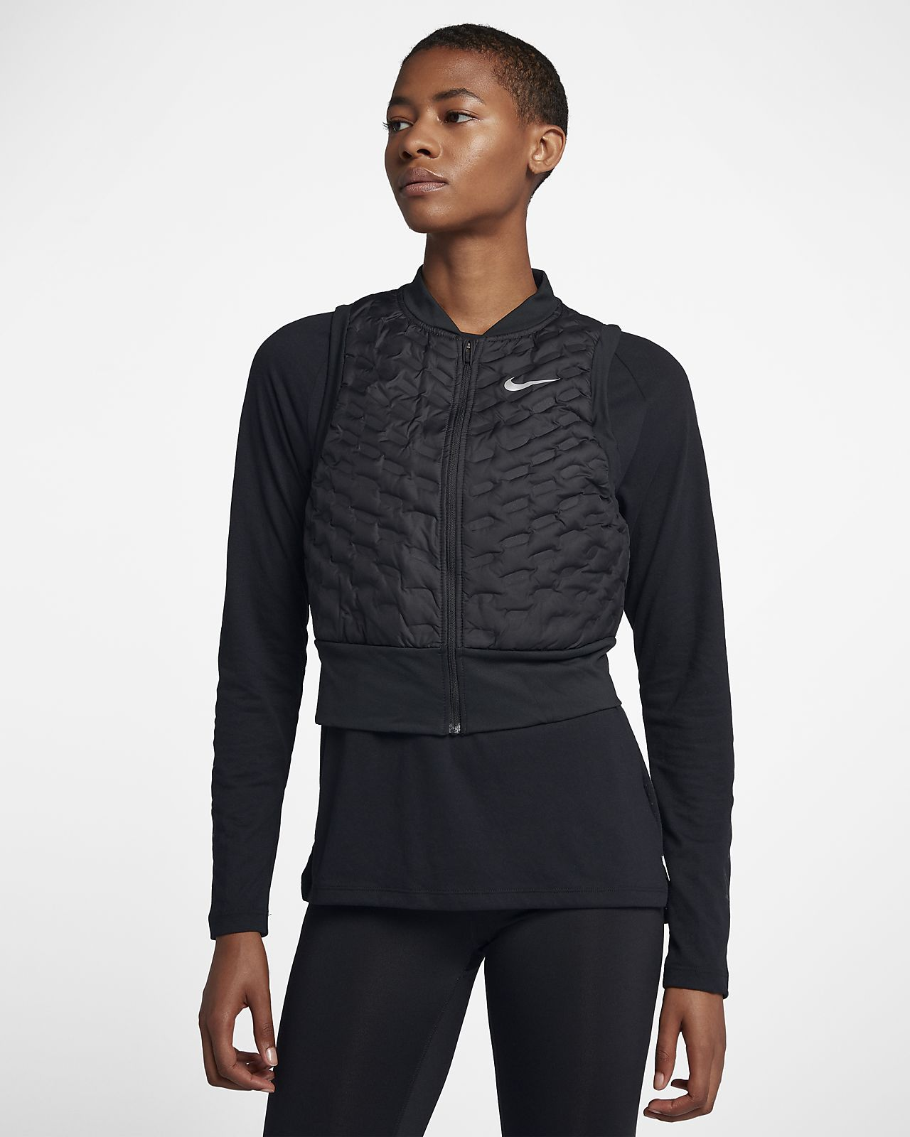 Veste de running sans manches Nike AeroLoft pour Femme. Nike.com BE d62c87ac26ff