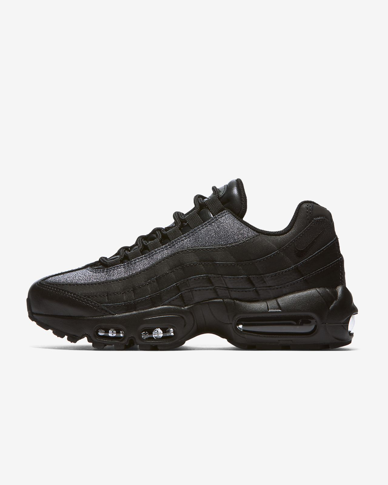 uk availability b0364 82698 ... Nike Air Max 95 SE Glitter-sko til kvinder