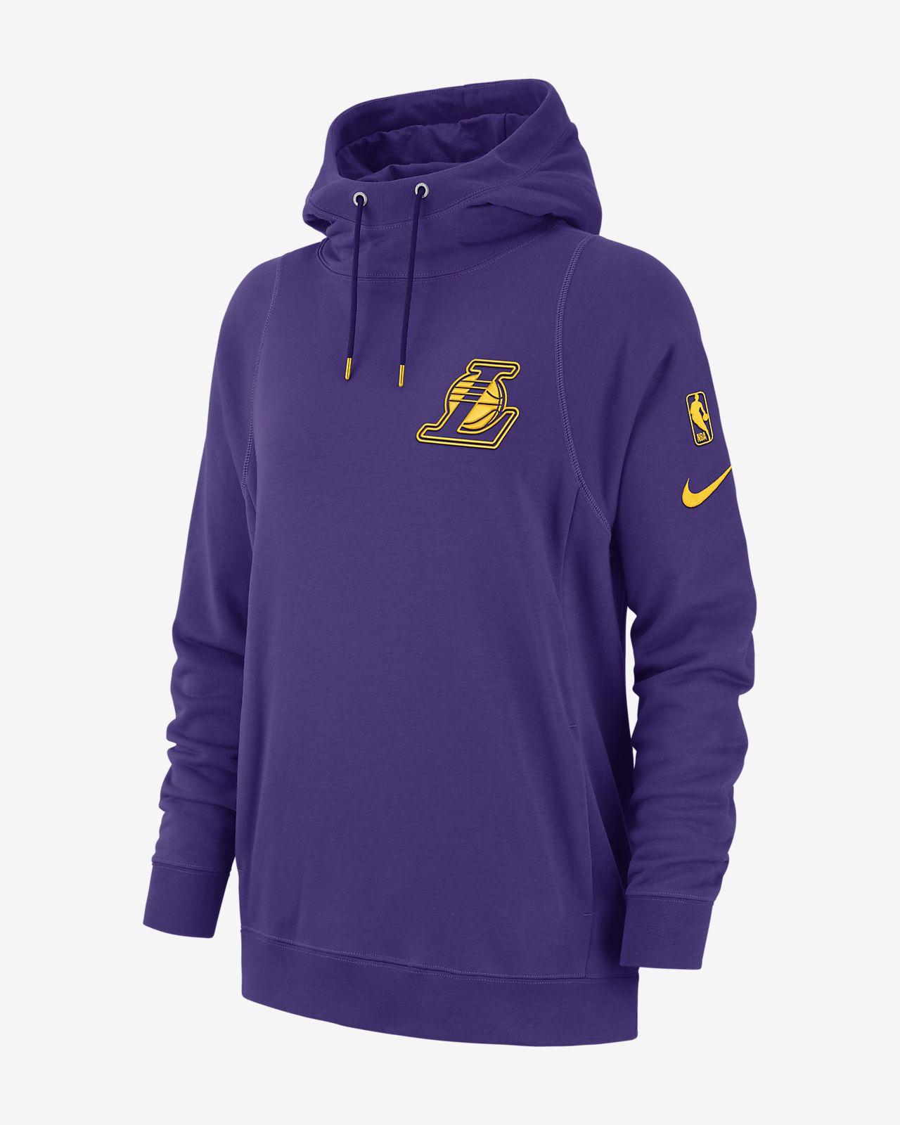 huge discount d3e75 c4b55 ... Los Angeles Lakers Nike Women s NBA Hoodie