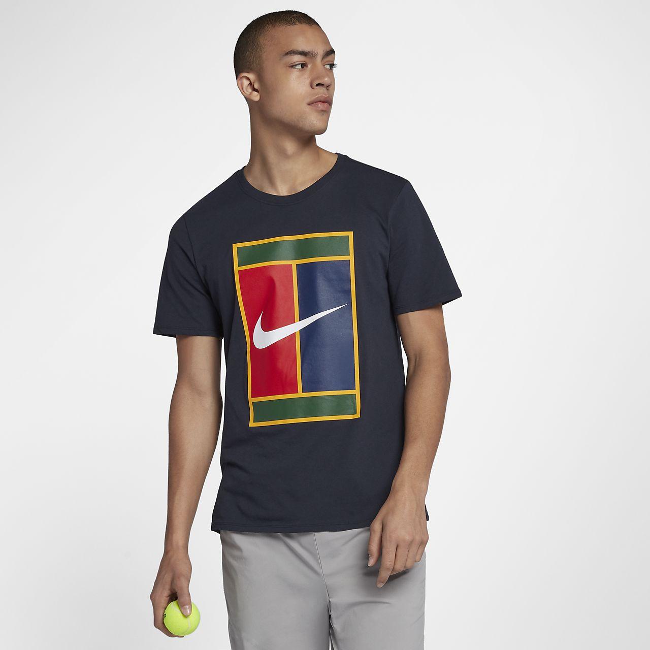 ... NikeCourt Heritage Logo Men's T-Shirt