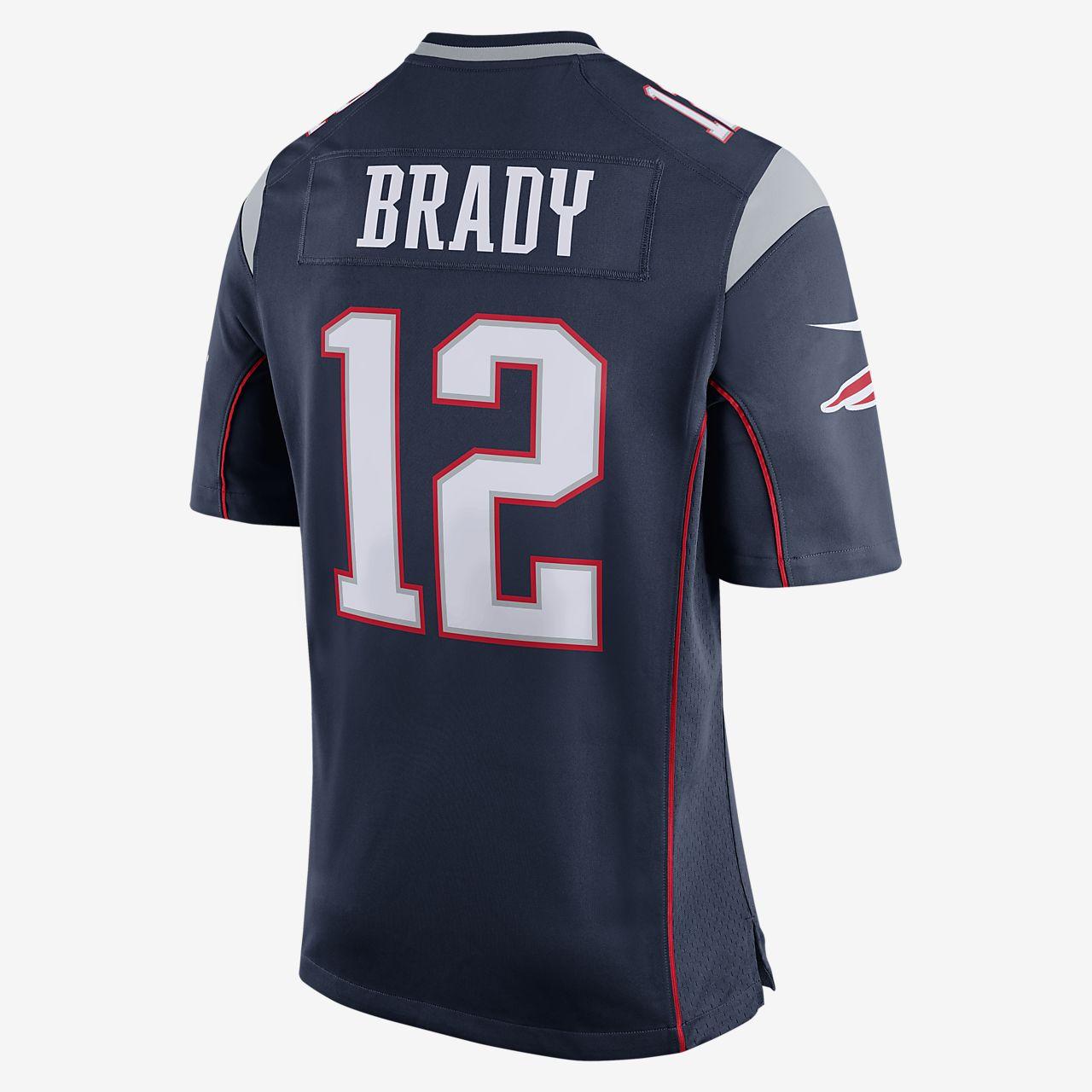 0bc86110df6c ... Jersey de fútbol de local para hombre de los New England Patriots de  NFL (Tom