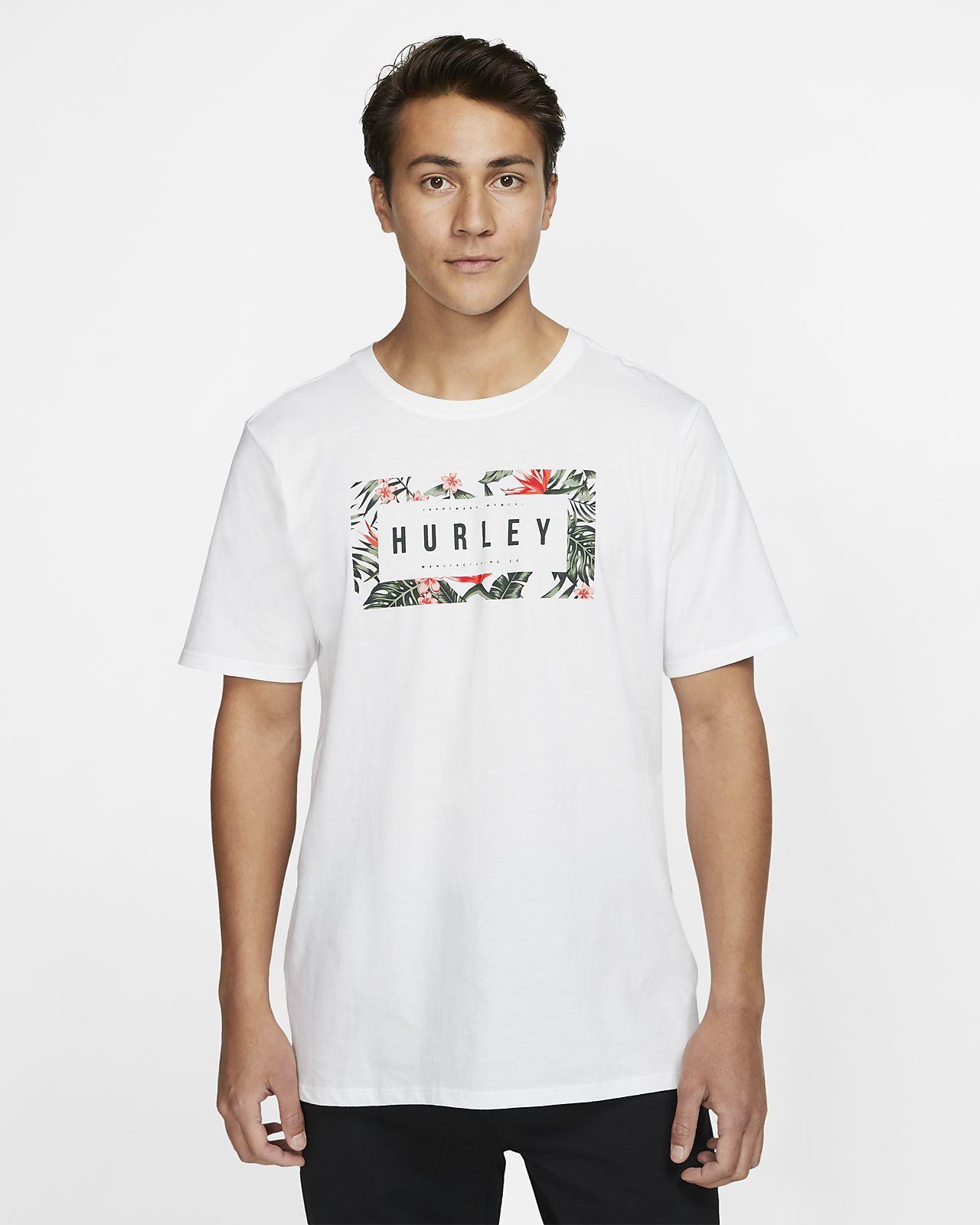 Hurley Premium Flashback Floral Herren-T-Shirt