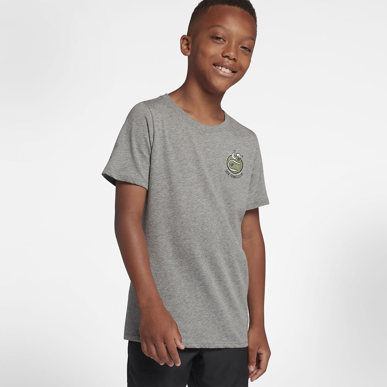 Playera de tenis para niño NikeCourt