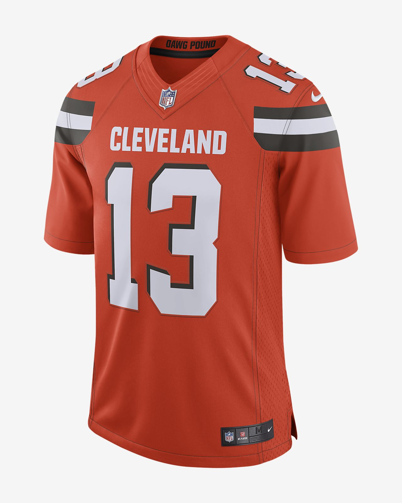 innovative design 2fb76 6aa4e NFL Cleveland Browns (Odell Beckham Jr.) Men's Limited Football Jersey