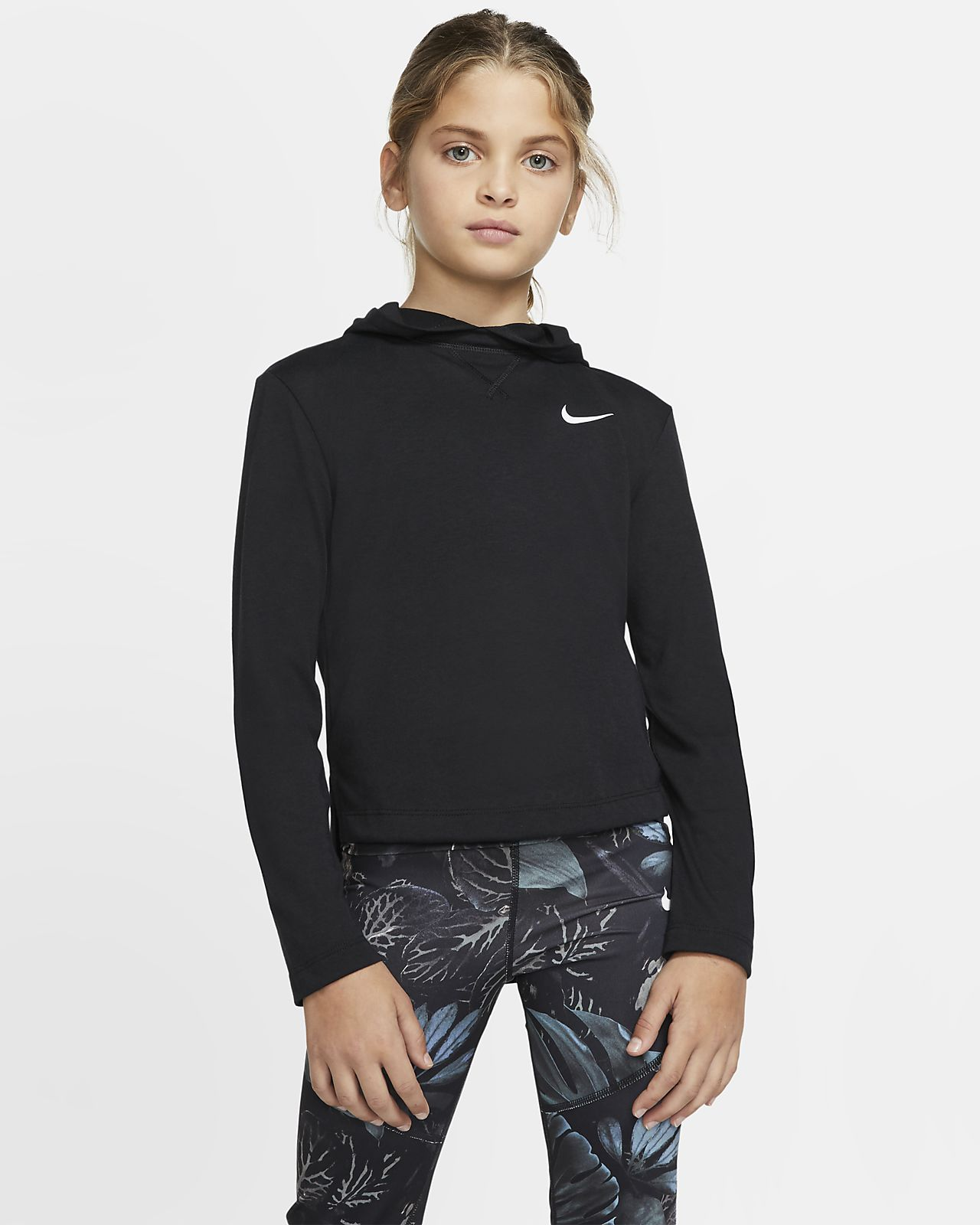 Nike Dri-FIT Trophy Big Kids' (Girls') Training Hoodie