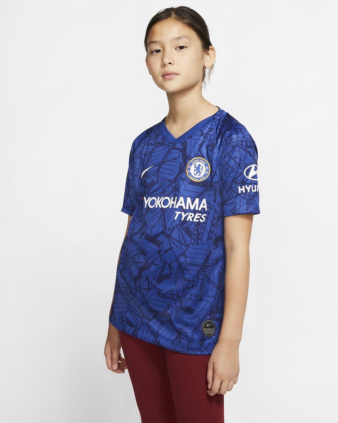 d18b712f9 Chelsea FC 2019 20 Stadium Home Big Kids  Soccer Jersey. Nike.com