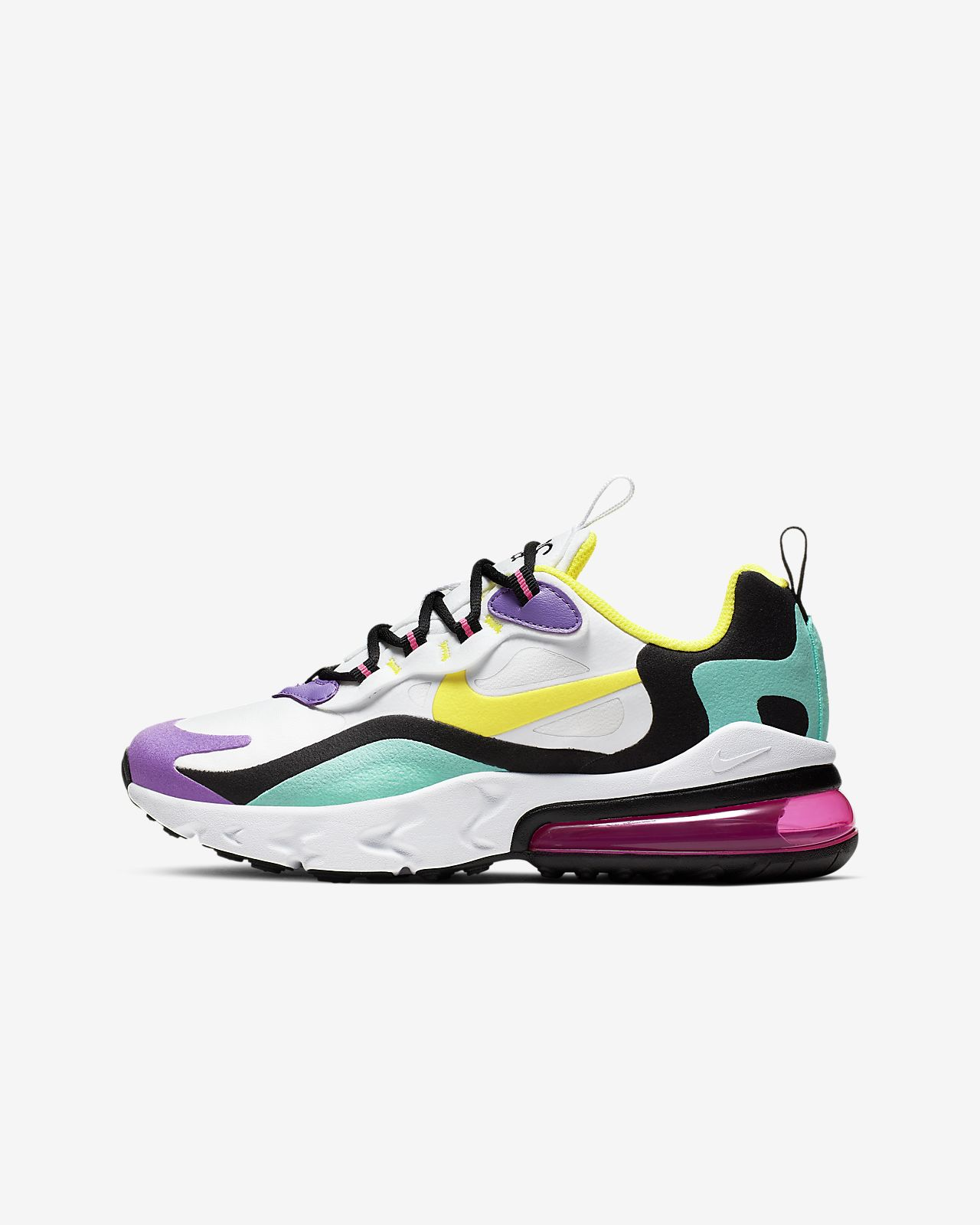 Nike Air Max 270 React Kinderschoen