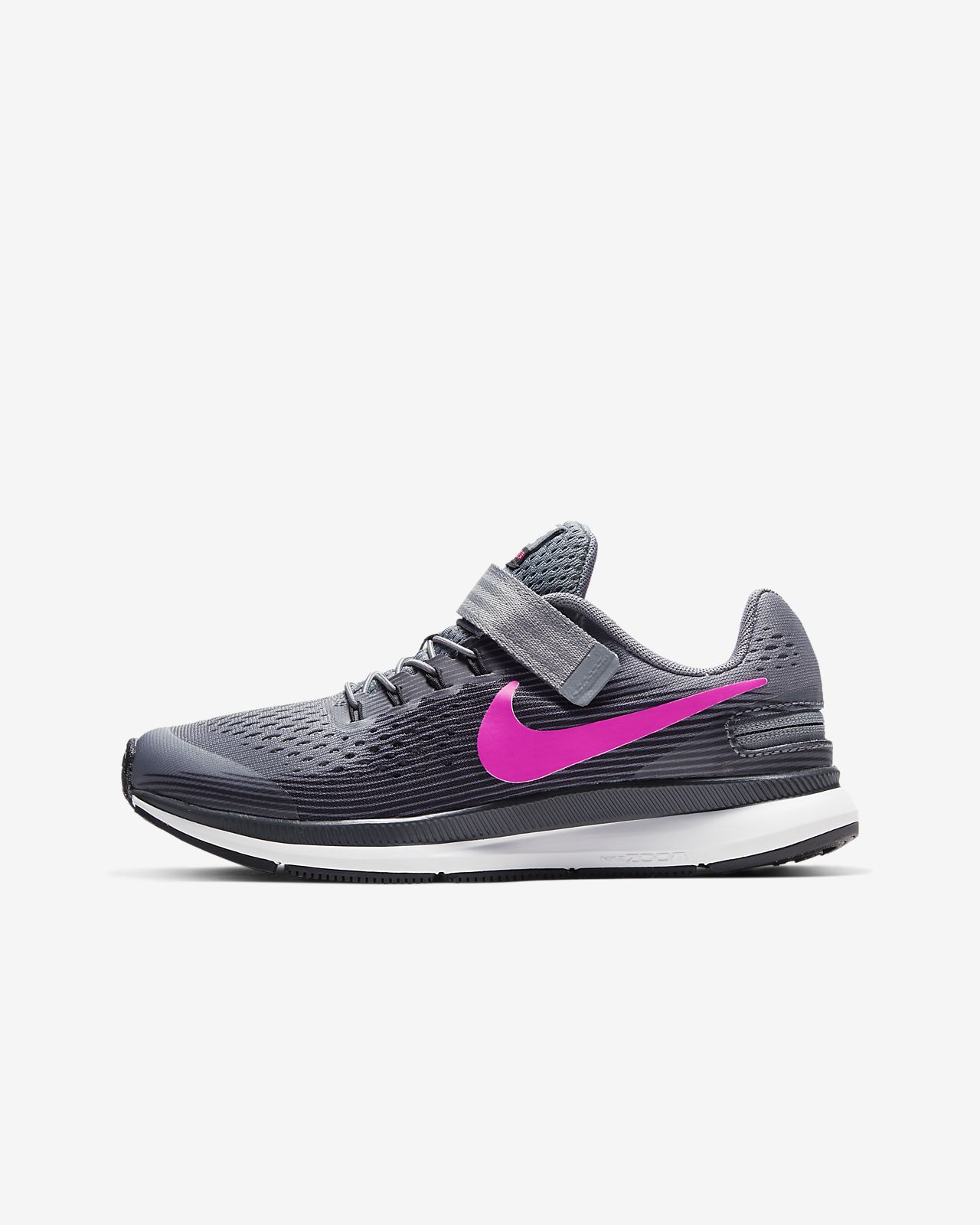 Nike Zoom Pegasus 34 FlyEase Younger/Older Kids' Running Shoe