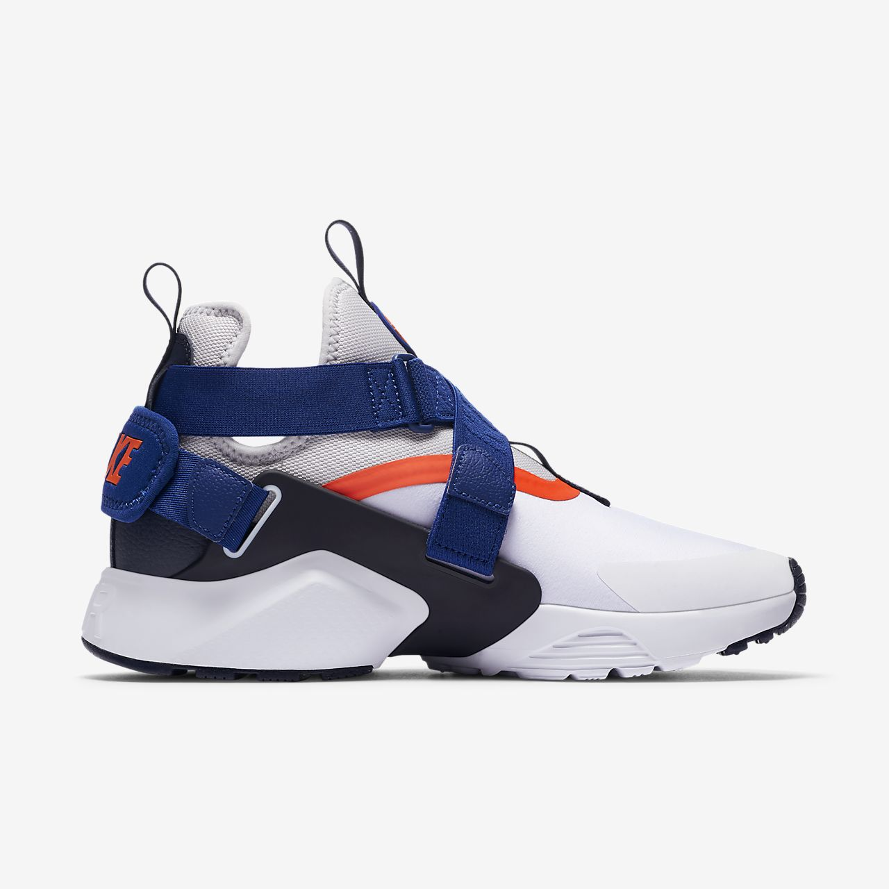 NIB*Nike*Air Huarache City Sneaker*White Blue Crimson Grey*5 -12*Women