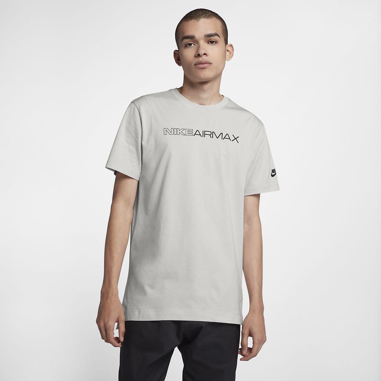 maglietta nike air max uomo