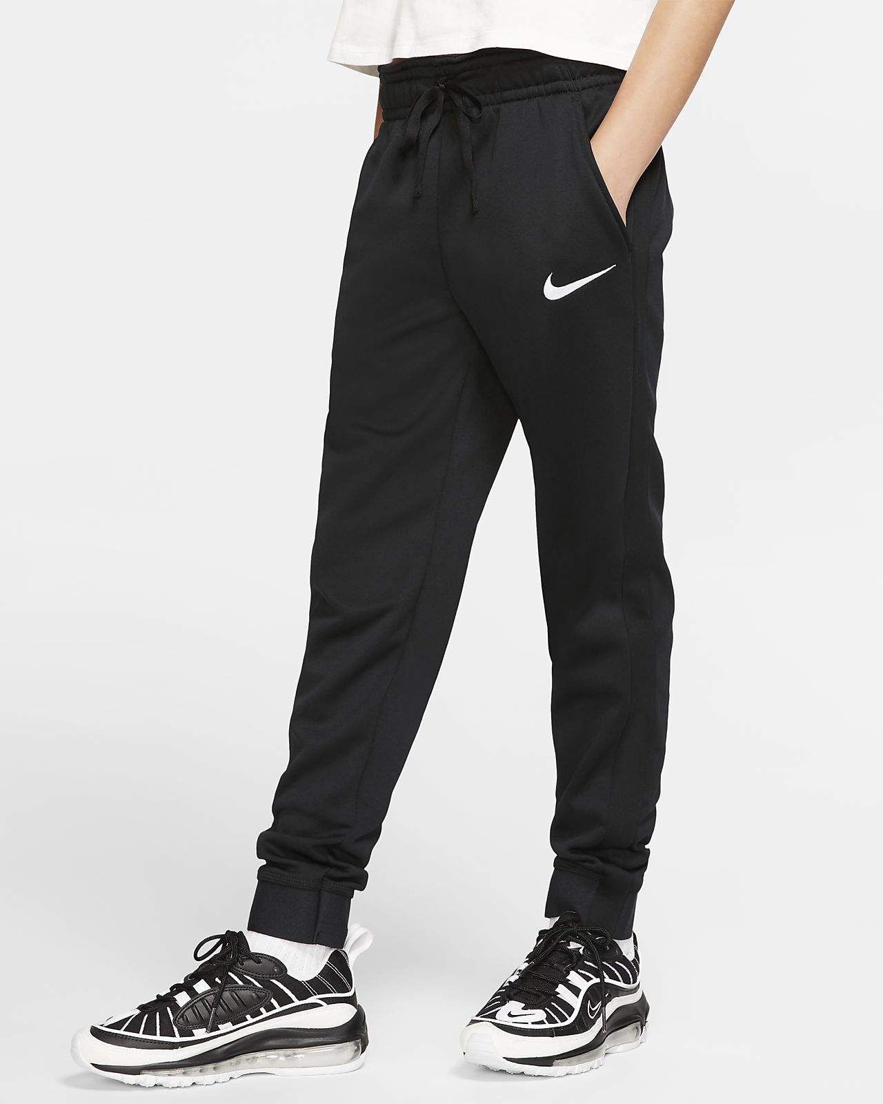 Nike Therma 大童(女孩)训练长裤