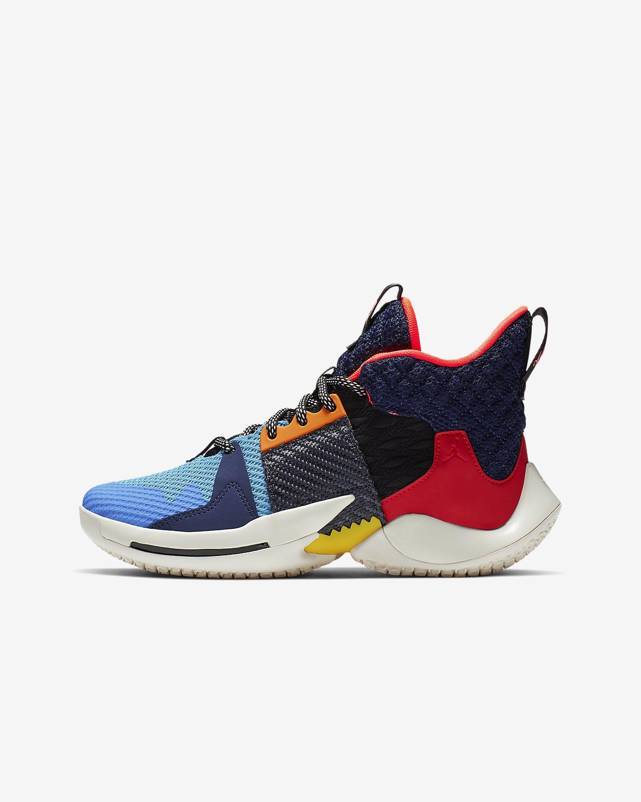 acheter en ligne 942d8 34be0 Chaussure de basketball Jordan « Why Not? » Zer0.2 pour Enfant plus âgé.  Nike.com CA