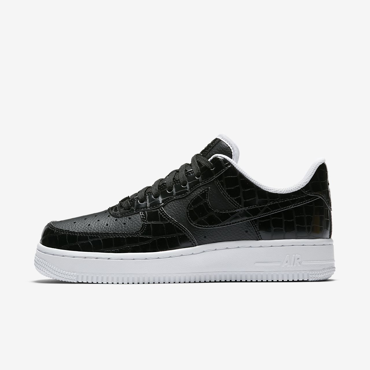 womens nike air force 1 '07 shoes black nz
