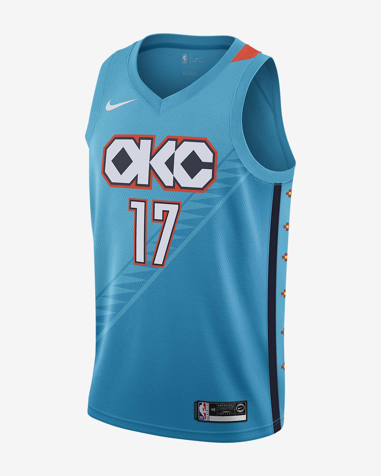 Maglia Nike NBA Connected City Edition Swingman (Oklahoma City Thunder) - Uomo