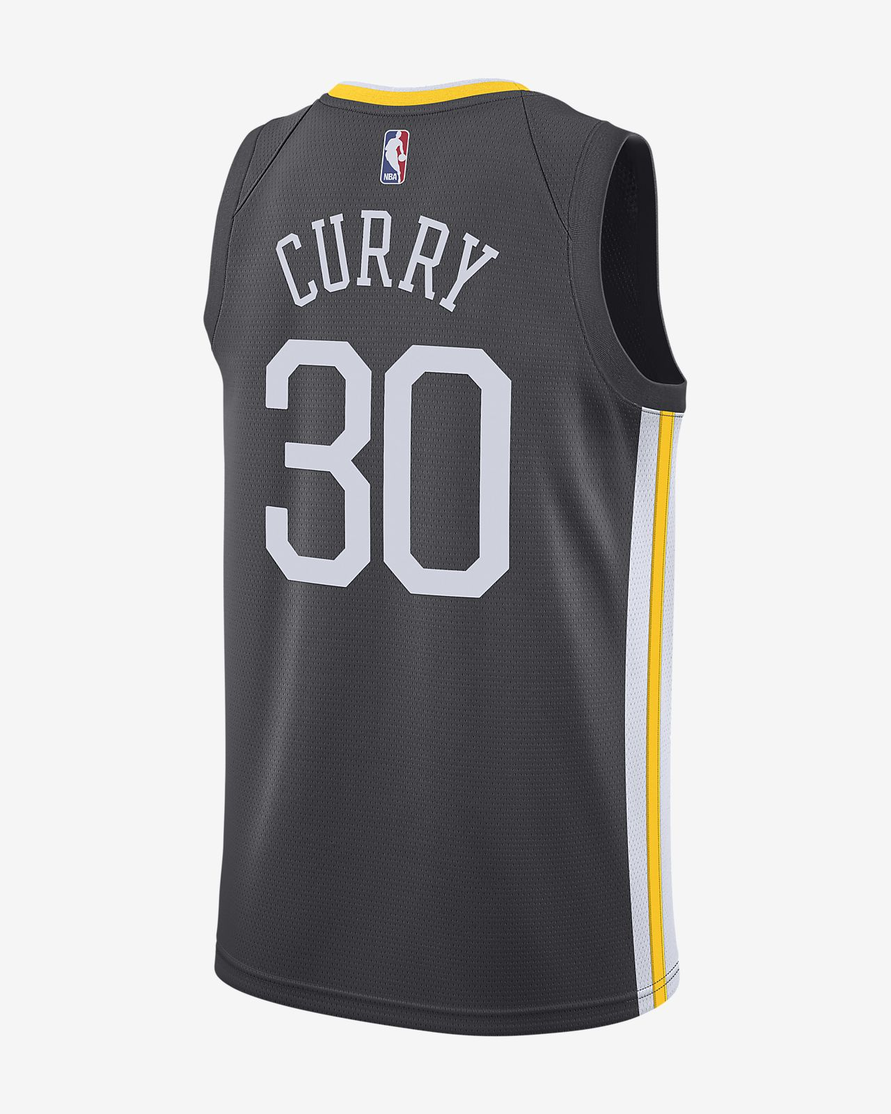 b6cfb5c9b ... Camiseta conectada Nike NBA para hombre Stephen Curry Statement Edition  Swingman (Golden State Warriors)