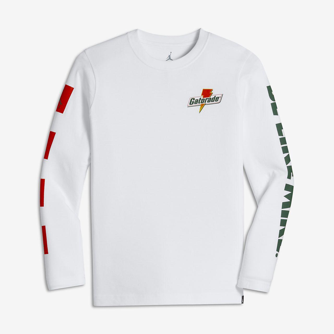 fc4f5a808f28c5 Jordan Lightning Older Kids  (Boys ) Long-Sleeve T-Shirt. Nike.com SI